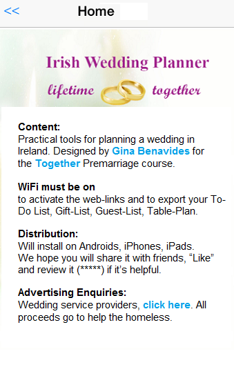 Irish Wedding Planner
